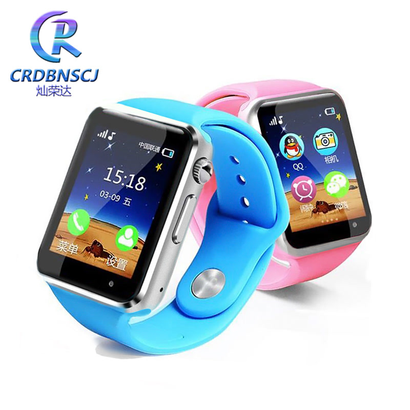 CRDBNSCJ 智能定位手环触屏可拍照男女学生儿童电话手表