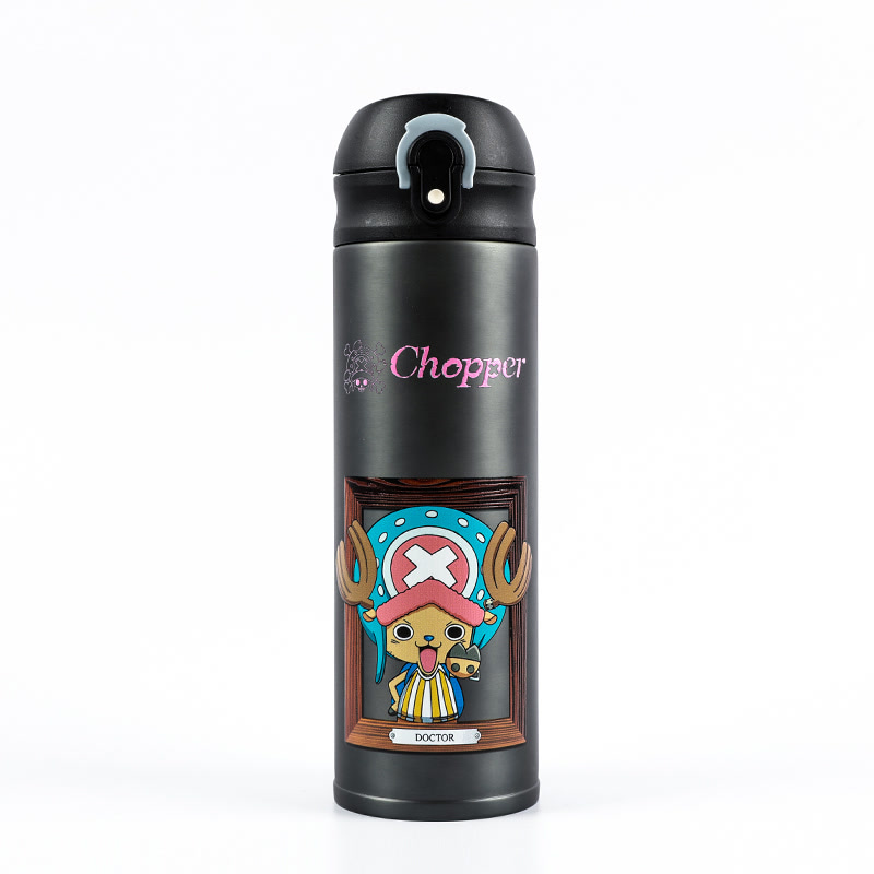海贼王 人物系列3D浮雕打印工艺弹跳保温杯420ML 九款可选
