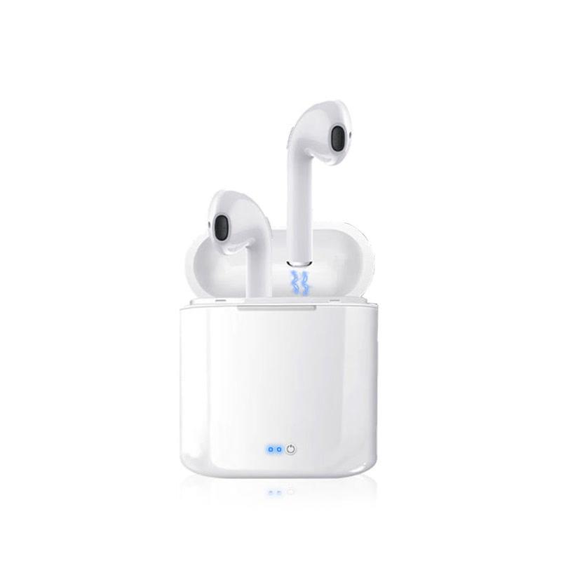 自带充电仓+双耳迷你无线蓝牙耳机手机通用入耳塞