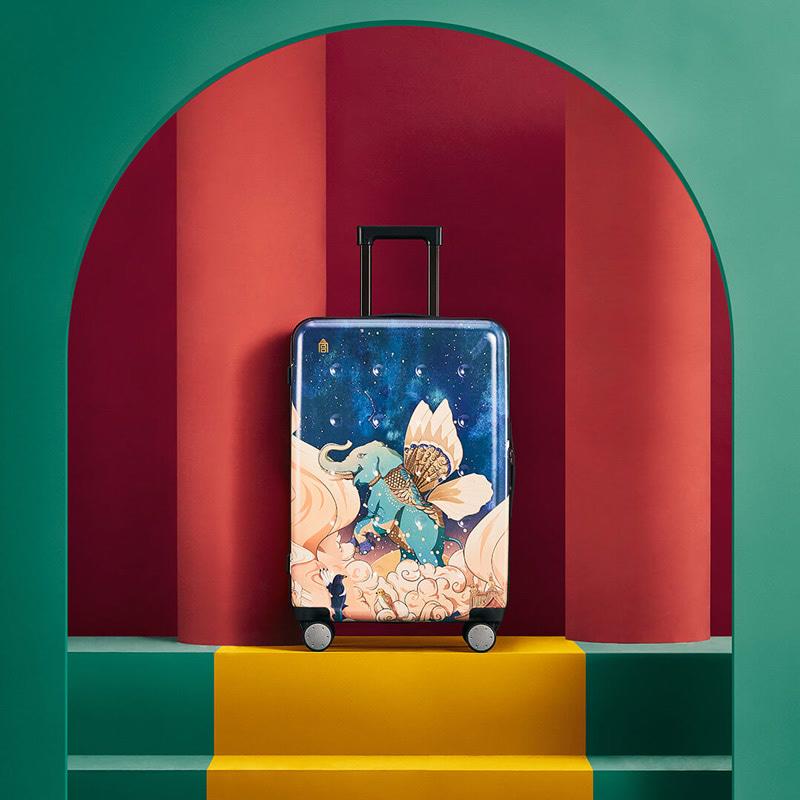 上新了故宫 星辰时光旅行系列 悠行自得拉杆箱